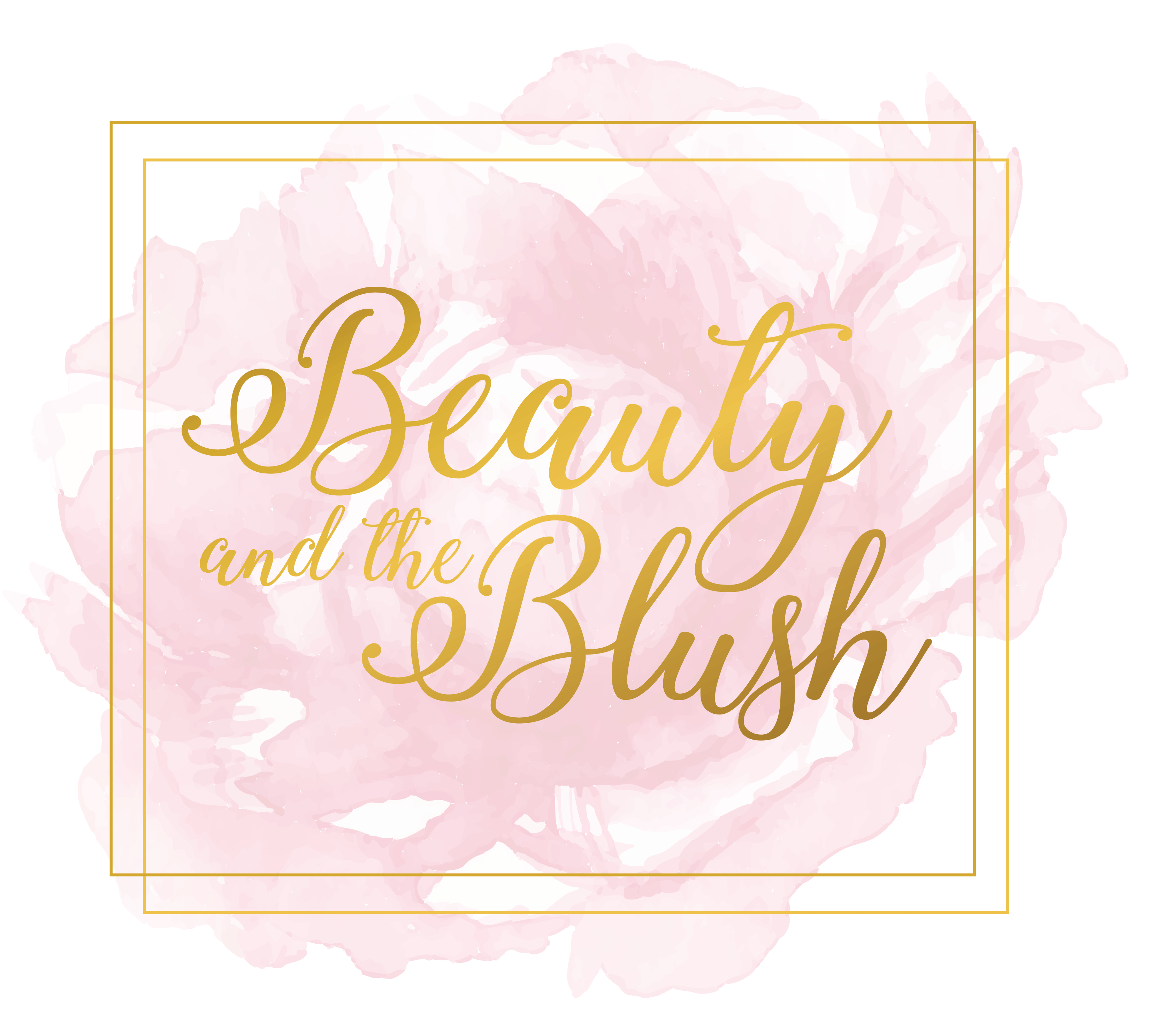 Williamsport PA Small Business logo design graphic design branding images hair and makeup artist beauty and the blush makeup artist