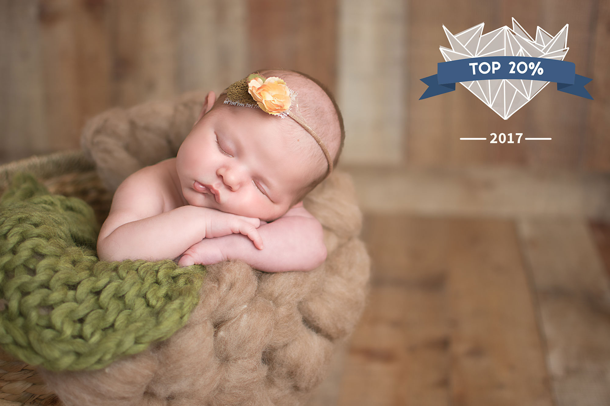 Photo Contest Shoot and Share Baby Newborn Photography neutral basket wood backdrop