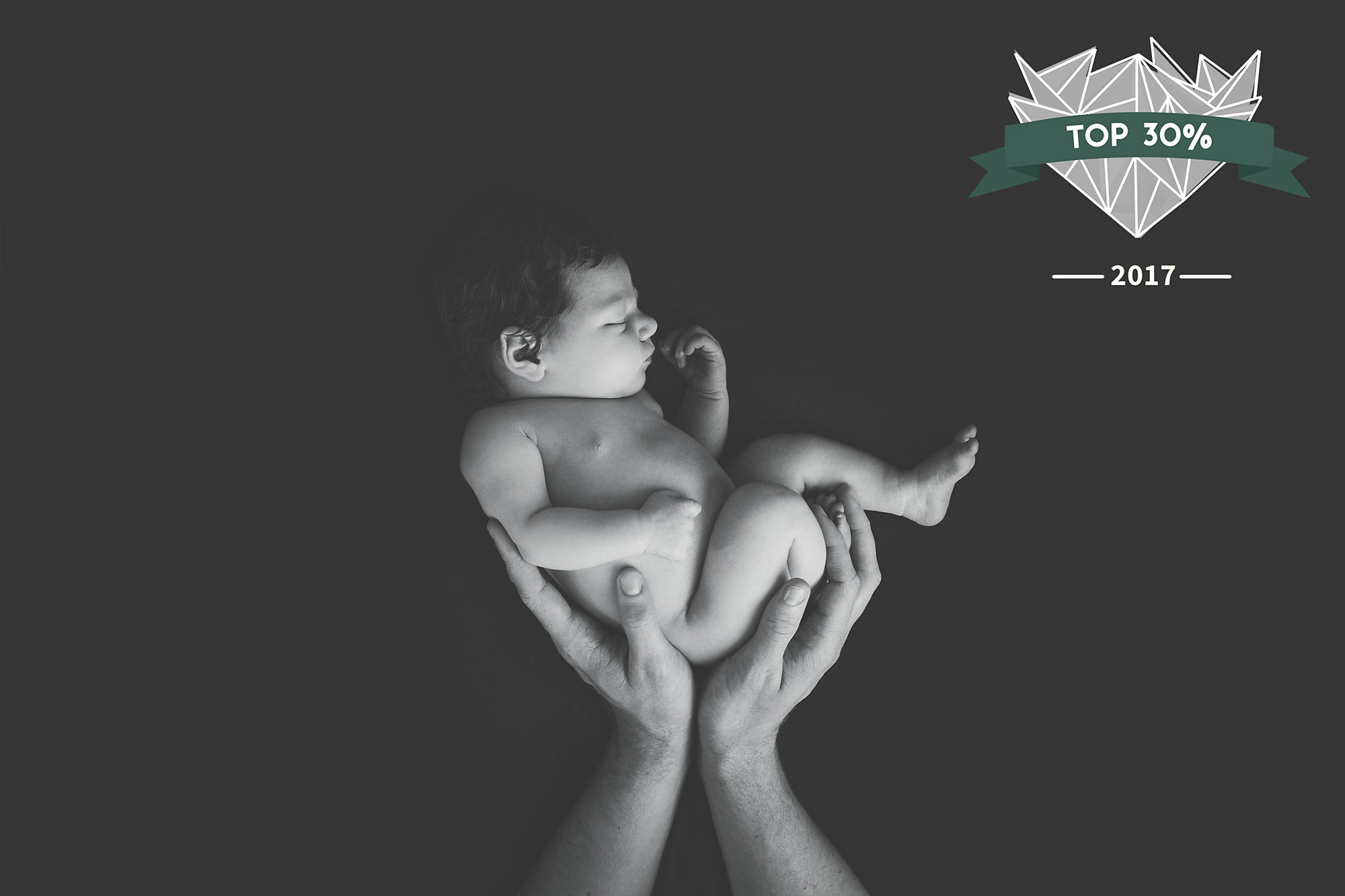 Photo Contest Shoot and Share Newborn Photography Black and white hands holding