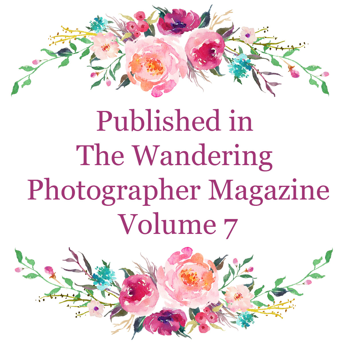Newborn and Maternity Published Photographer Wandering Photographer Magazine