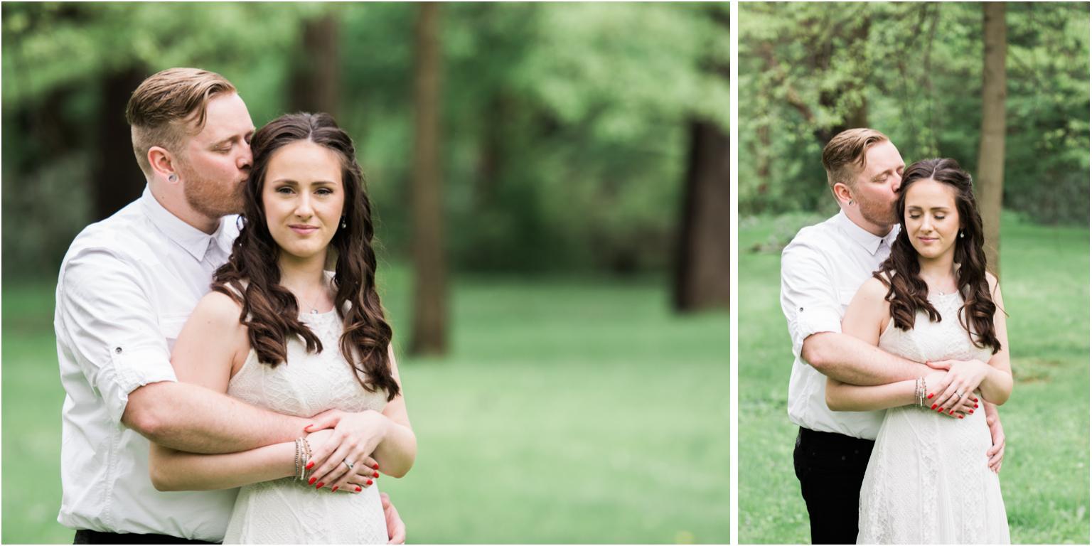 Kathy and Arthur bridal wedding portraits williamsport  outdoor love