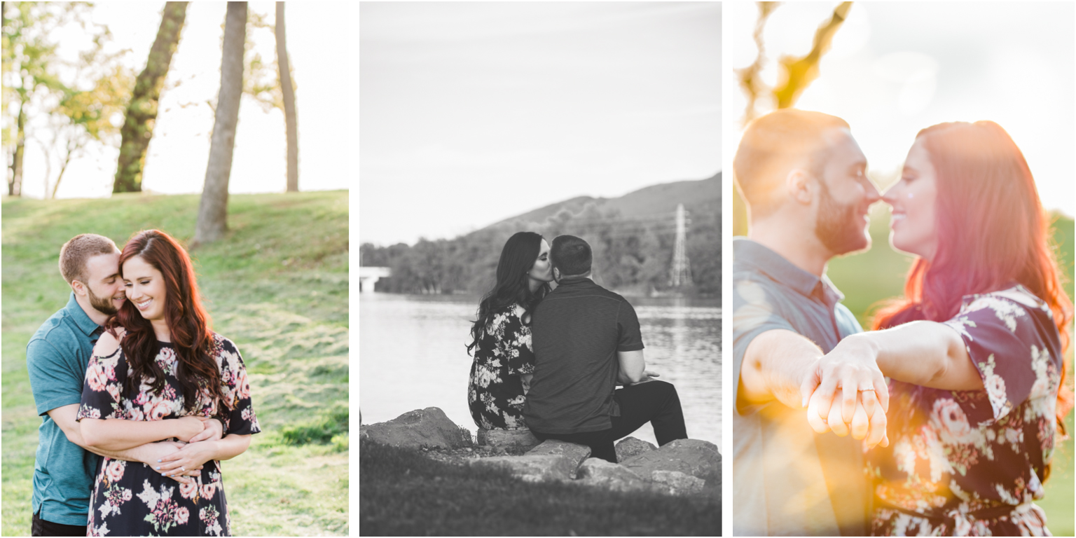 Married WIlliamsport PA Wedding Engagement Outdoor