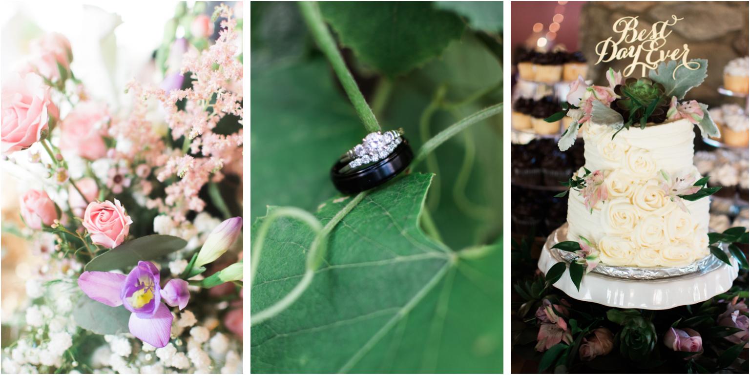 Married WIlliamsport PA Wedding detail macro ring shot