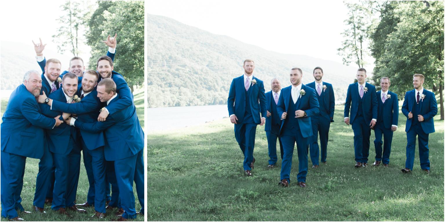 Married WIlliamsport PA Wedding bridal party groomsmen groom