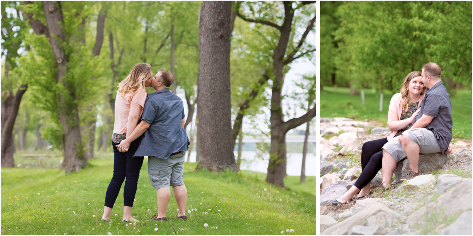 Married Engagement photography williamsport PA