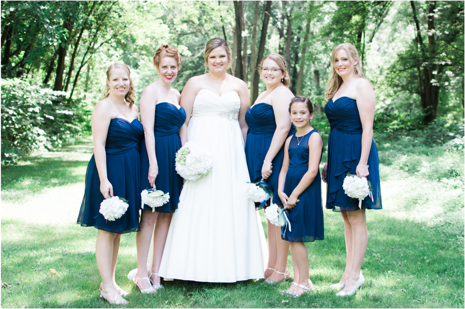 Married details bridesmaids photography williamsport PA