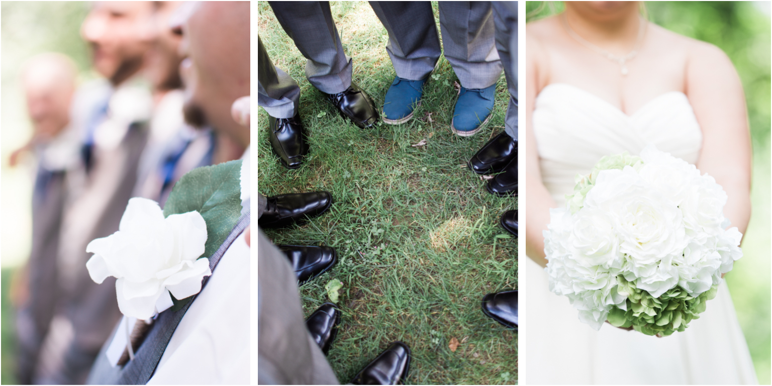 Married details groomsmen photography williamsport PA bridal party details