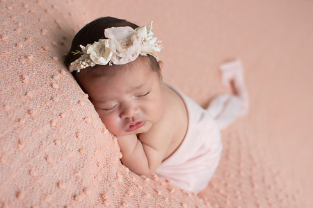 Newborn Baby Penelope Girl Williamsport PA Photographer