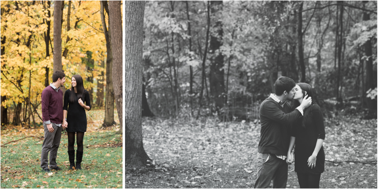 Williamsport PA Wedding Engagement Photographer The bush House estate fall foliage central pa