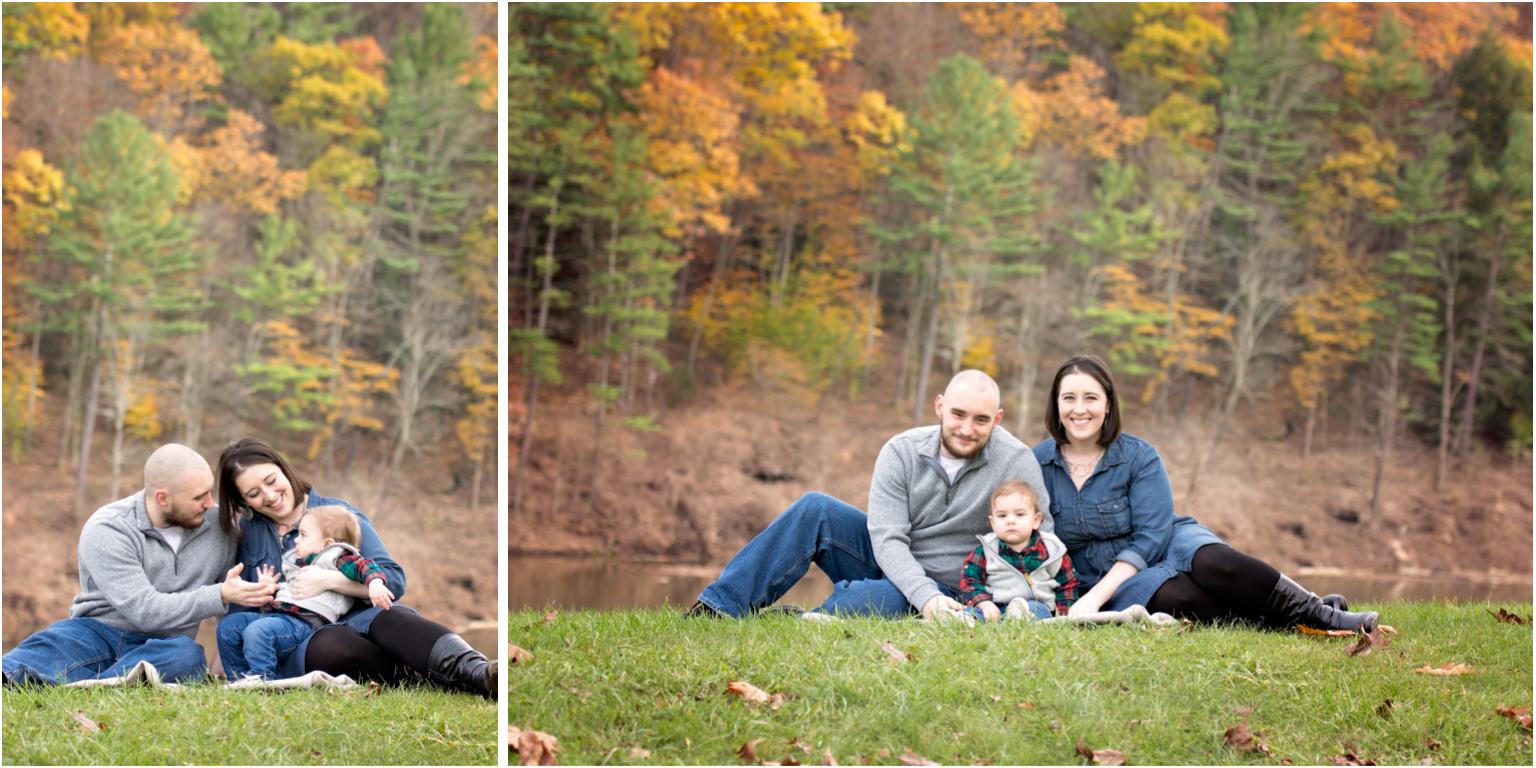 Pine creek Family photographer williamsport Jersey shore fall foliage