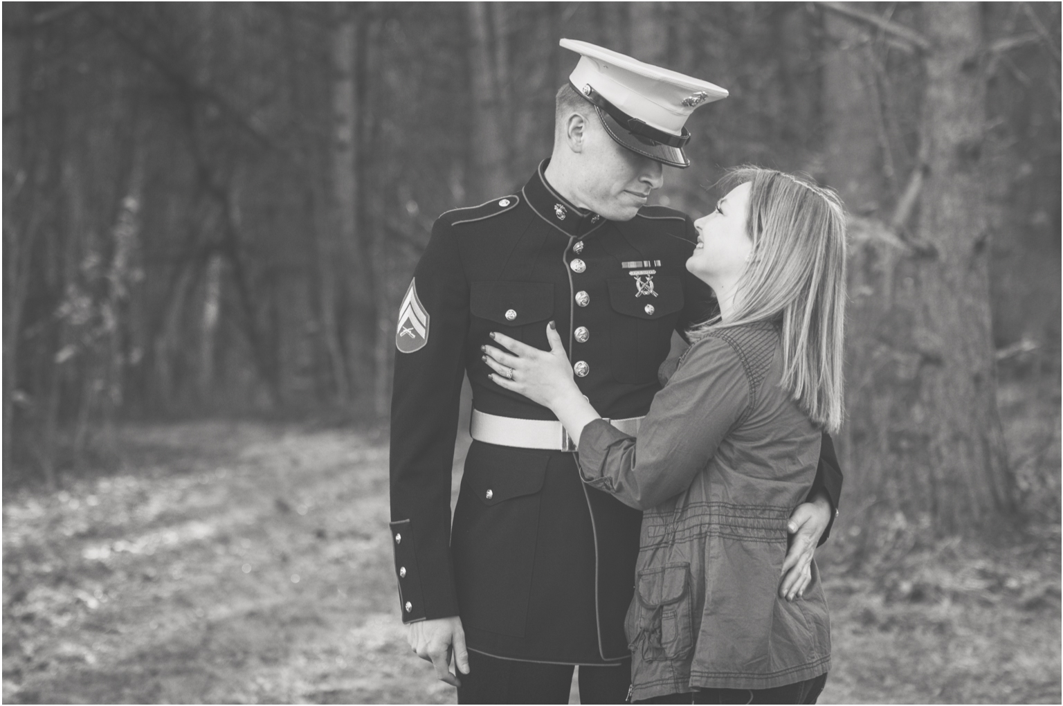 Engaged Military USA Marines Williamsport pa