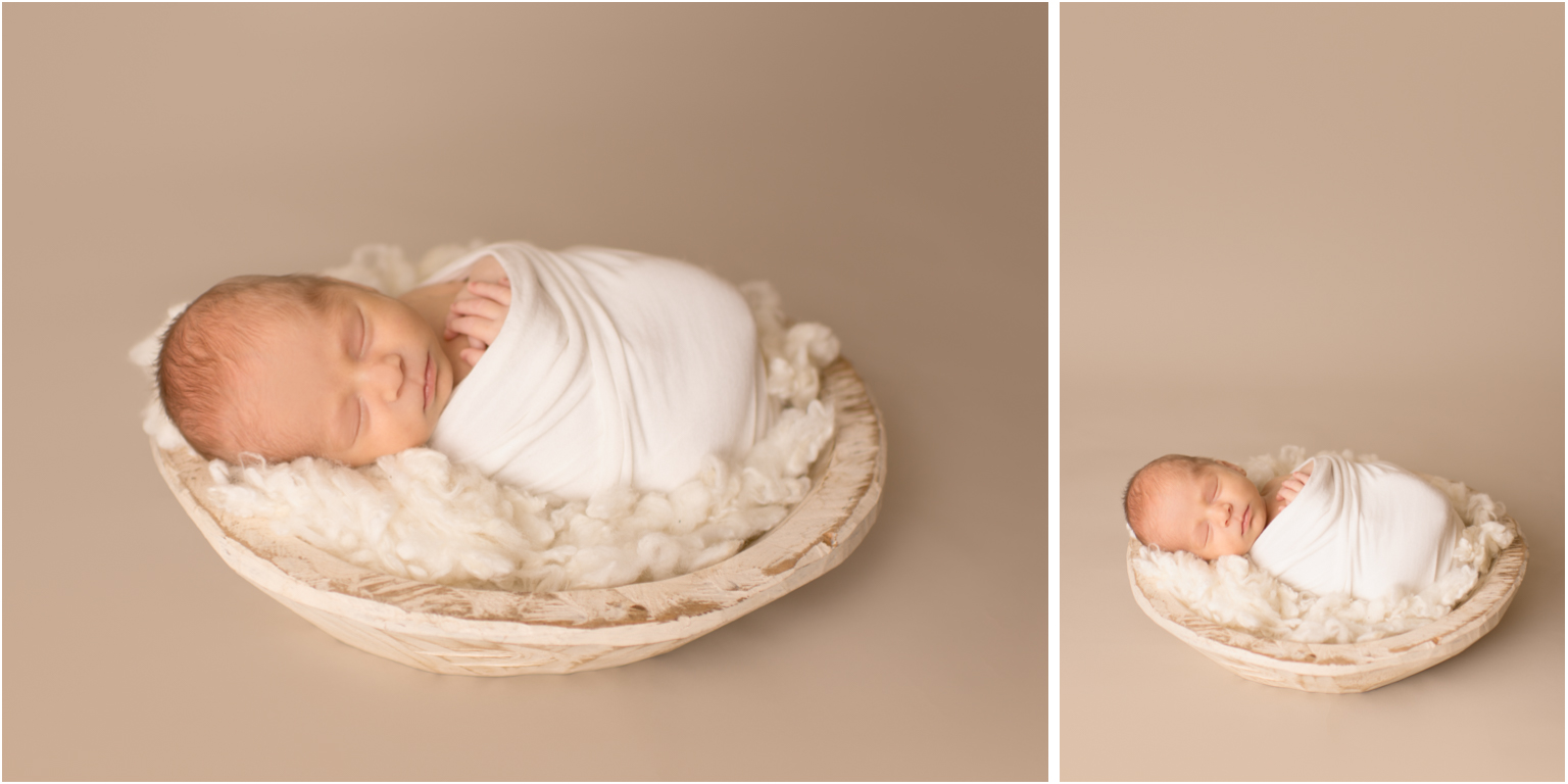 Simple, classic, newborn photography, williamsport pa, montoursville, bowl neutral