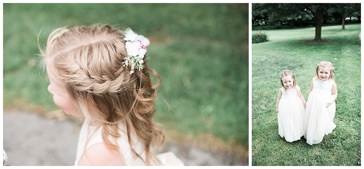 bush house estate flower girl