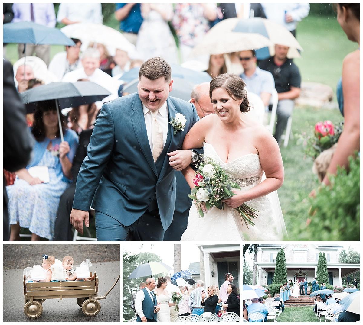 bush house estate outdoor ceremony