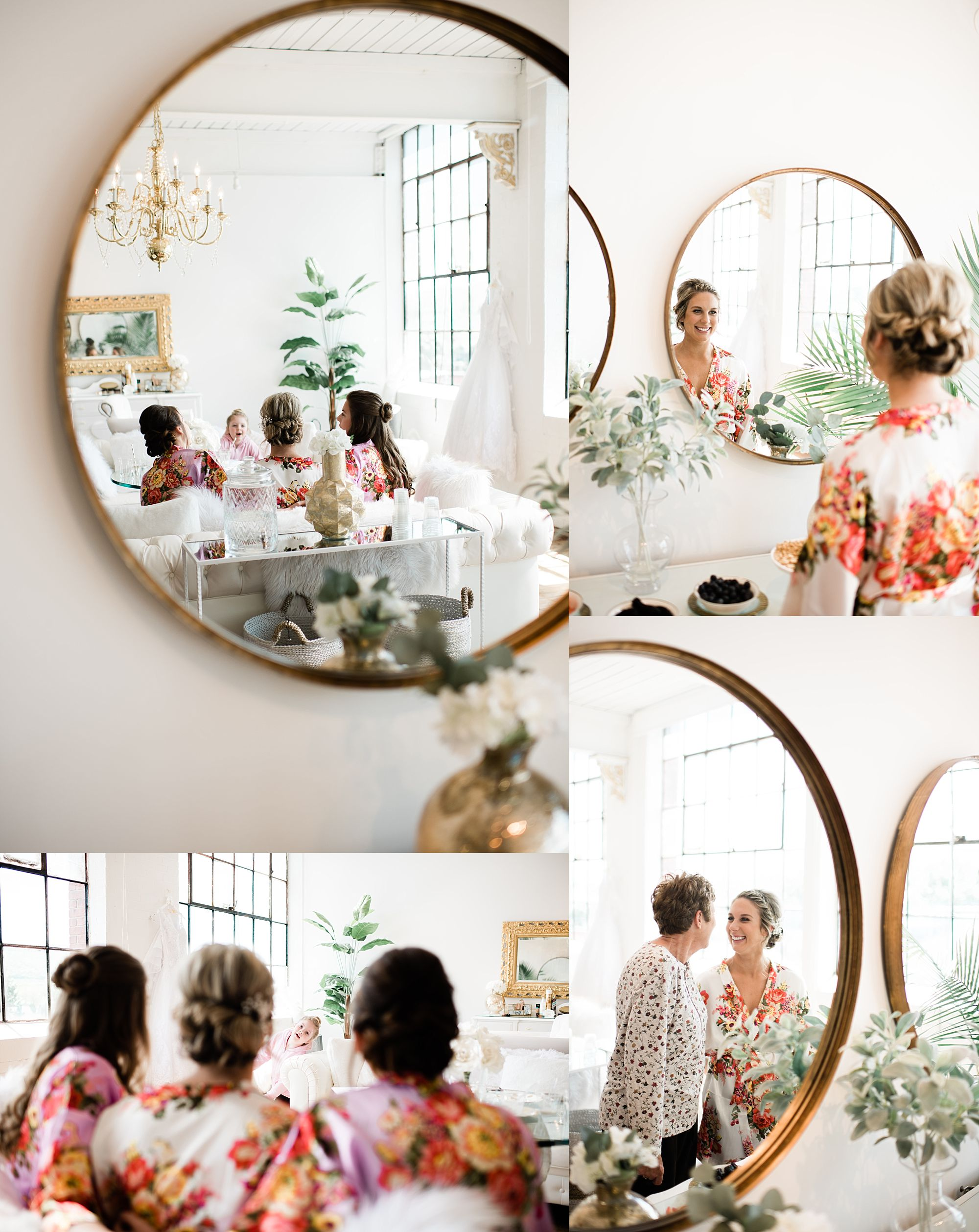 Williamsport PA Wedding bridal party studio space