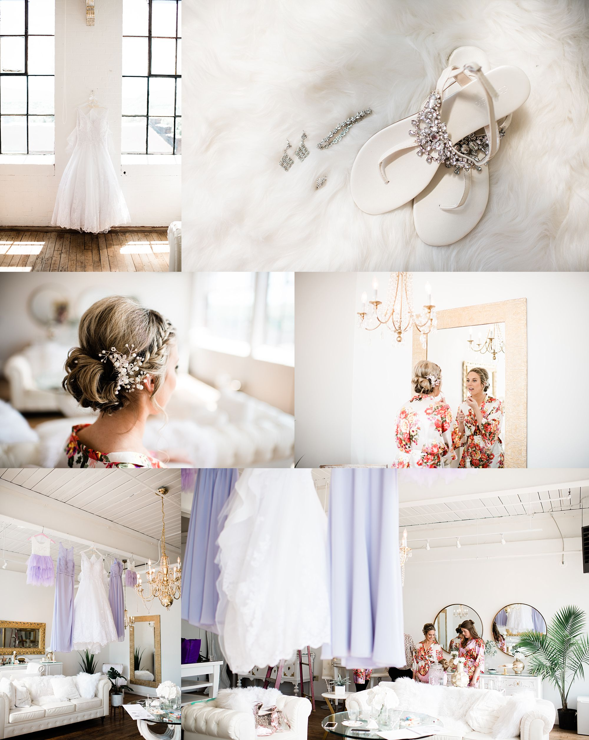 Williamsport PA Wedding bridal party studio space details