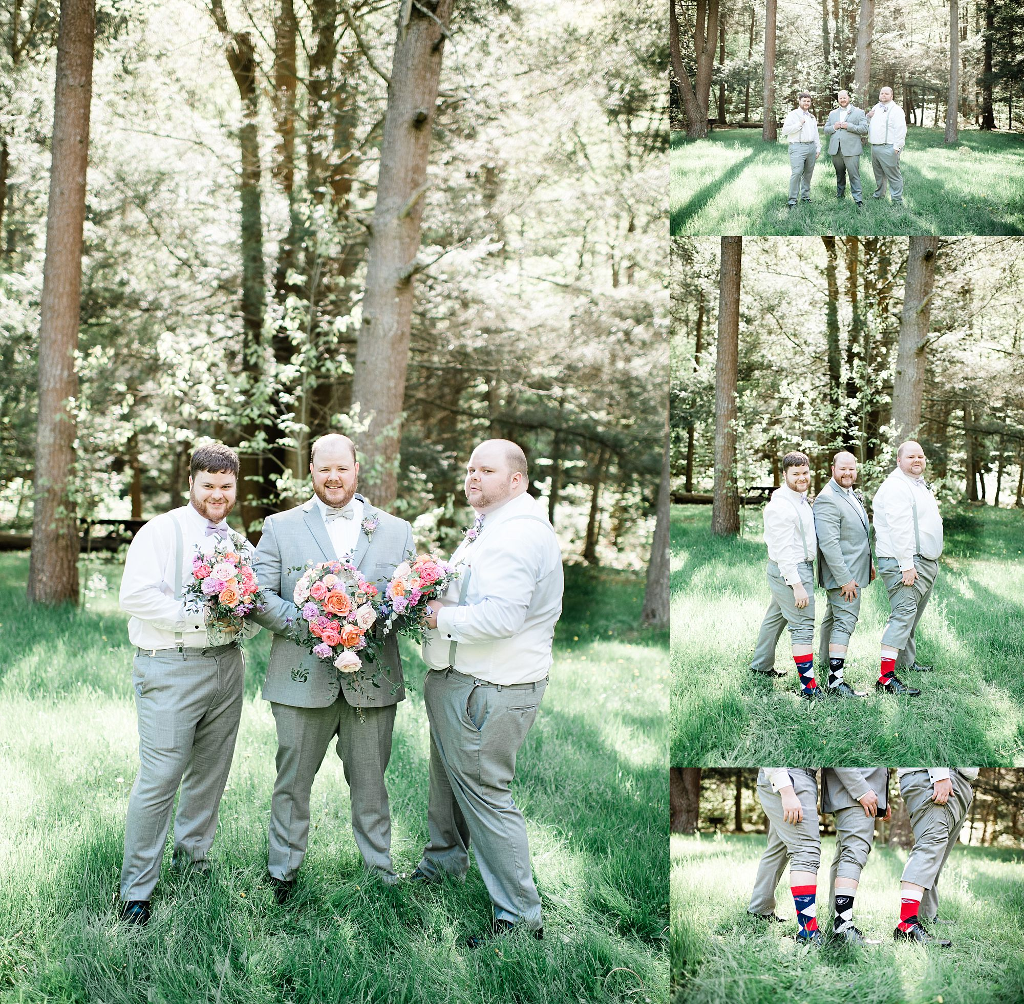 Williamsport PA Wedding bridal party studio space groom
