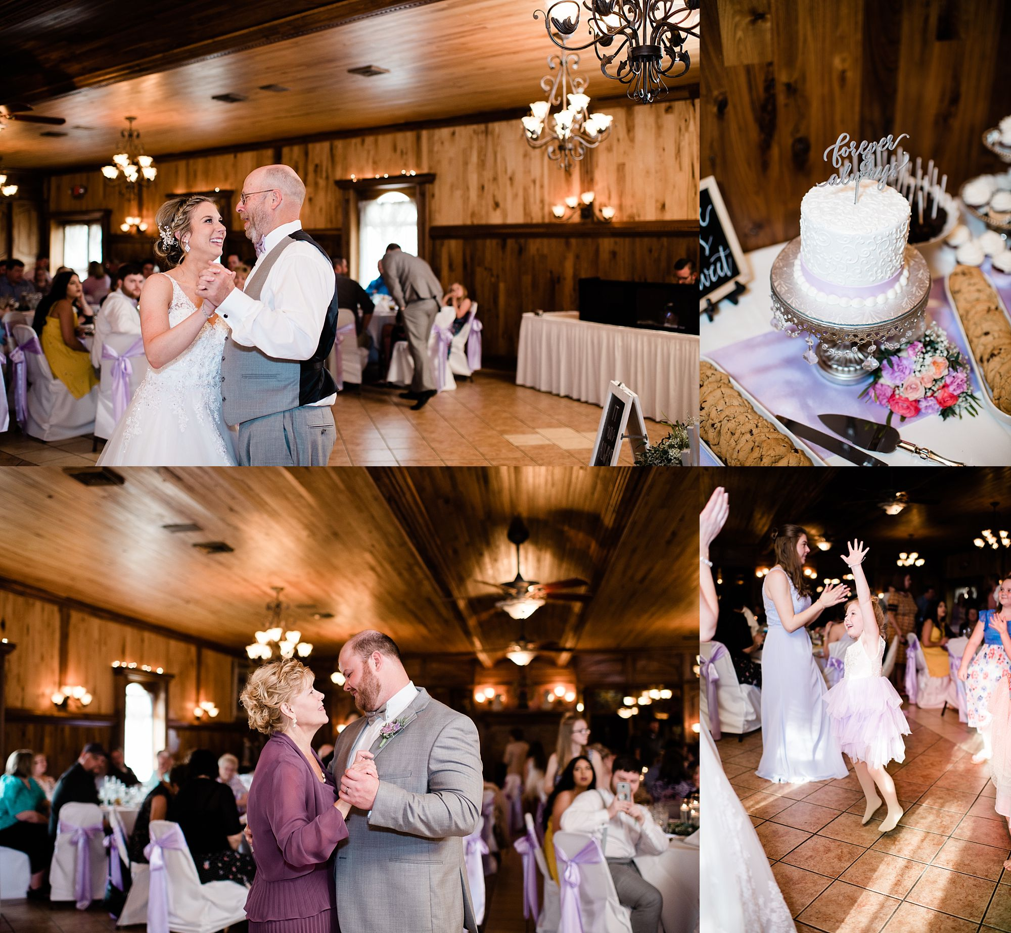 Williamsport PA Wedding bridal party couple reception