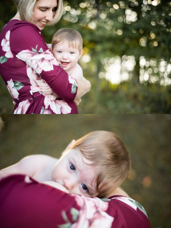 Motherhood project group breastfeeding