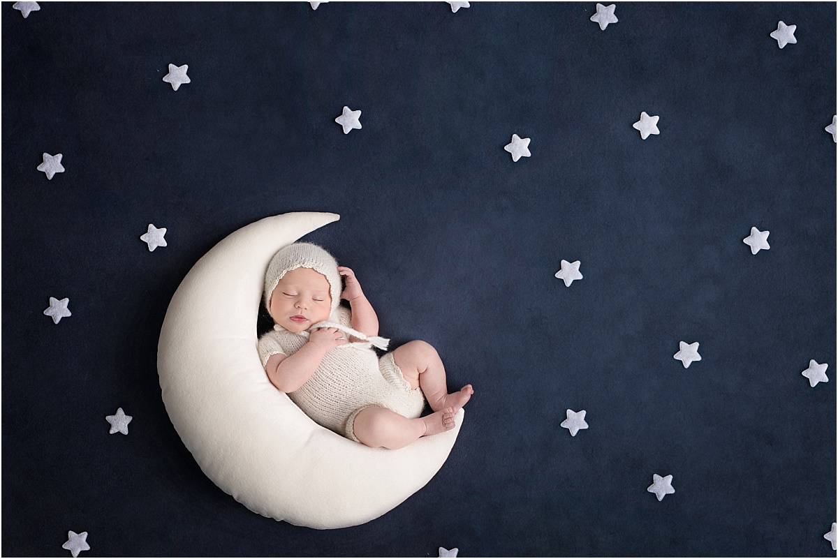 Over The Moon and Stars Newborn
