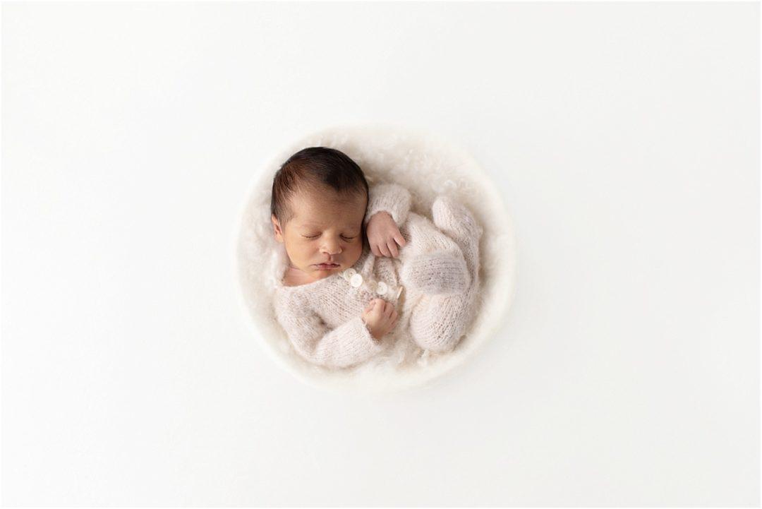 newborn photography williamsport pa boy white neutral