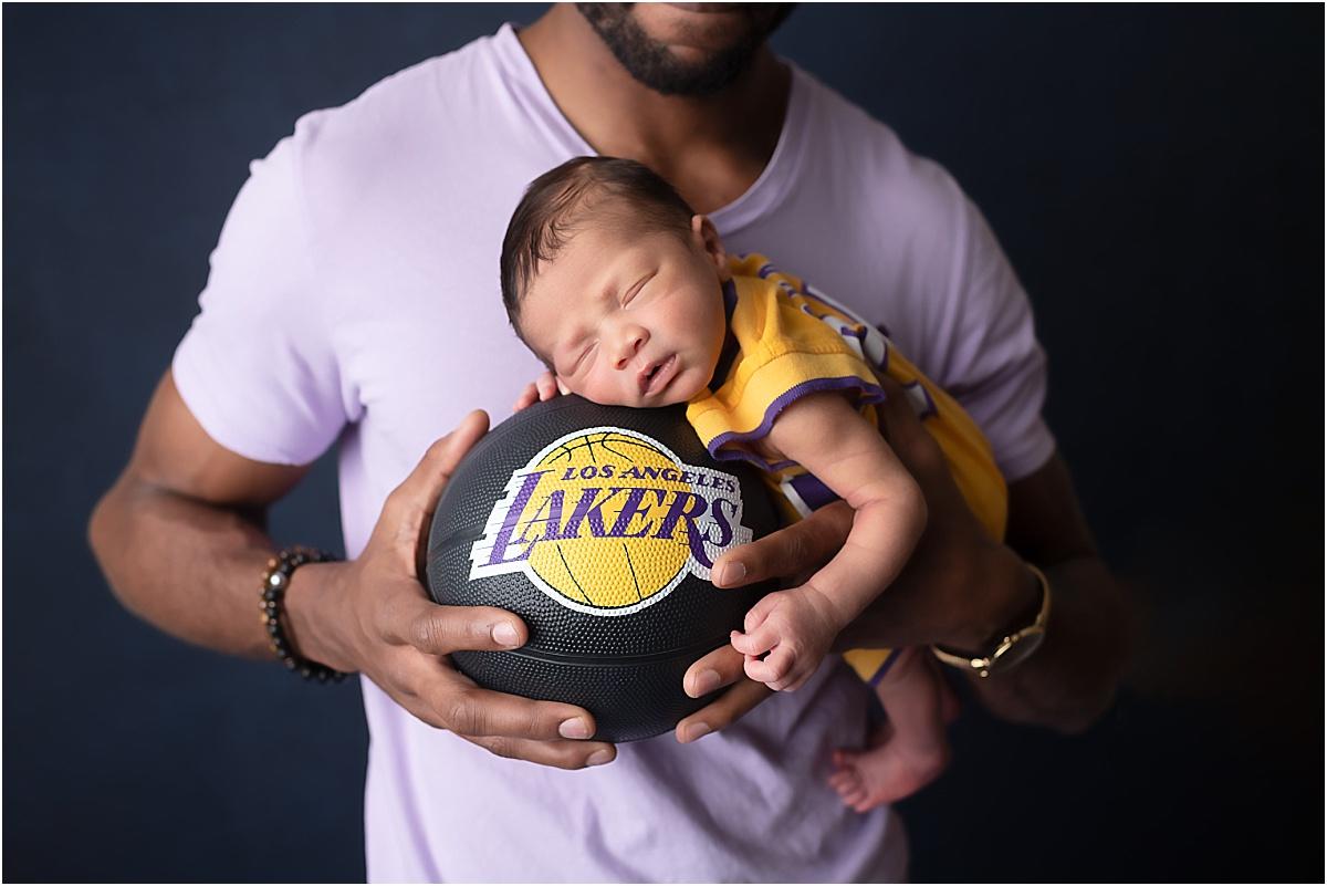 kobe bryant newborn photography