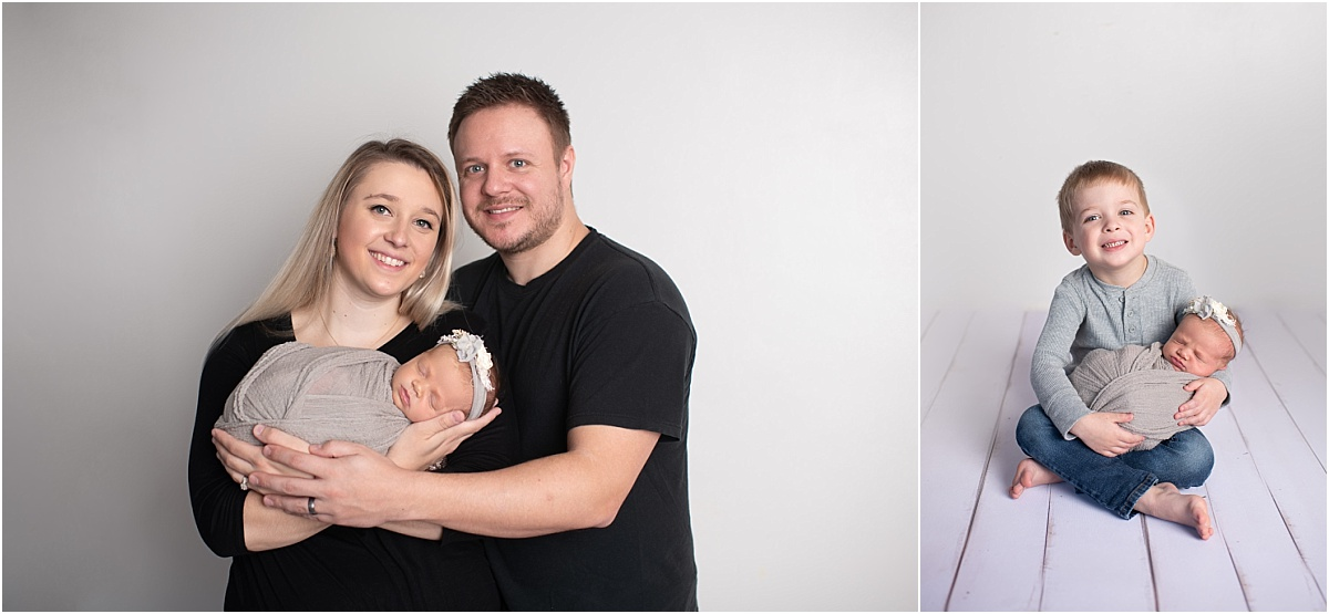 Williamsport PA Newborn Photographer Family Milestone