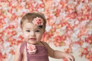 Floral Backdrop First Birthday